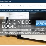 Web Design - Audio Video Logic