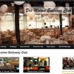 Web Design - Embassy Club