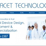 Facet Technologies Website by WinCommunications
