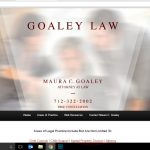 Web Design - Goaley Law