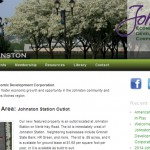 Web Design - Johnston Economic Development