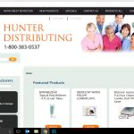 Web Design - Hunter Distributing