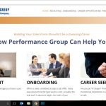 Web Design - Performance Group, LLC