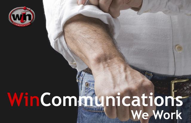 WinCommunications We Work - Website Design